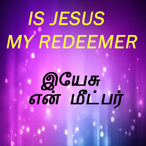Is Jesus my Redeemer