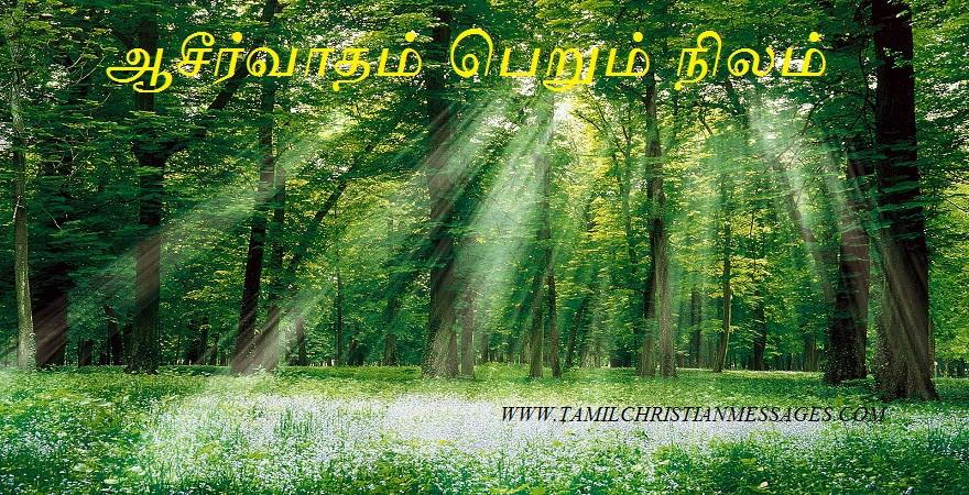 ஆசீர்வாதம் பெறும் நிலம்