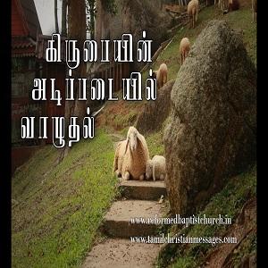 ஆவிக்குரிய வாழ்க்கையின் 3 வது சூத்திரம் (கிருபையின் அடிப்படையில் வாழுதல்)